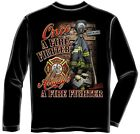 Erazor Bits FF2057 Once and Always a Firefighter Long Sleeve T-Shirt