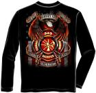 Erazor Bits FF2081 Hero's Firefighters Long Sleeve T-Shirt