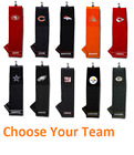 "NFL Officially Licensed 16""x22"" Embroidered Golf Towel Choose Your Team $14.09 USD on eBay"