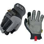 Mechanix Wear Multipurpose Padded Palm Gloves - Black & Grey - Multiple Sizes