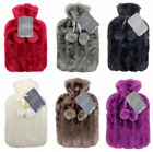 Thermotherapy Hot Water Bottle with Luxury Faux Fur Cover -  Choice of Colours