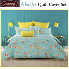 Akasha Quilt Cover Set by Bianca - DOUBLE QUEEN KING Super King Eurocases Cushio