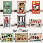 for Pub Wall Tavern Craft Shabby Retro Decor Home Shop Vintage Sign Tin Plaque