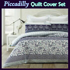 Piccadilly Paisley Lightly Quilted Quilt Cover Set by Phase 2 DOUBLE QUEEN KING