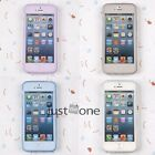 Flip New Fashion Soft TPU Clear Case Skin Protector Cover Back for iphone 5/5S