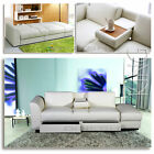 """KING"" Funktionssofa Weiss Schlafsofa Sofa Kunstleder Bettsofa Lounge Couch"