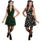Bunny MINIKLEID Robyn Bat Halloween Rockabilly Psychobilly-PartY