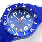 Fashion Women Men Couple Geneva Silicone Jelly Gel Quartz Sports Wrist Watch BU