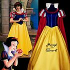 FP134 COSPLAY Dress Princess snow white Costume tailor made kid adult GOWN