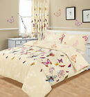 Duvet Cover with Pillowcase Quilt Cover Bedding Set Butterfly Single Double King