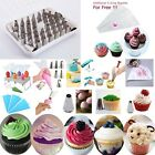 Icing Piping Nozzles Cupcake Tip Bag Fondant Two Color Set Cake Decorating Tools