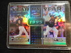 DEEK JETER/EDGARDO ALFONZO 2000 BOWMAN'S BEST YEAR BY YEAR REFRACTOR #YY5