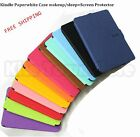Smart Ultra Slim Magnetic Kindle Paperwhite Case wakeup / sleep+Screen Protector
