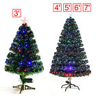 Indoor Artificial Pre-lit Fiber Optic Christmas Tree Home Christmas Decoration