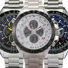 AK-Homme 4 Colour Special Dial Dual Digital Mens Quartz Wrist Watch Gift Set New
