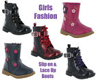 Infants Small Girls Fashion Winter Ankle Designer Boots By Chatterbox Size 4-10