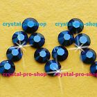 GENUINE Swarovski Metallic Blue (METBL) Crystal (No hotfix) Flat back Rhinestone