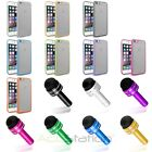 """TPU Gummy Transparent Clear Hard Back Case Cover+Dust Cap Pen For iPhone 6 4.7"""""""