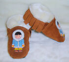 moxies moccasins fully lined rust suede choose size north am indian mocassins