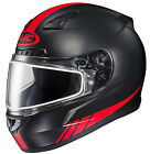 HJC CL-17 Streamline Frameless Dual Lens Snow Helmet Flat Red All Sizes