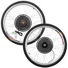 "36V 26"" 800W Front/Rear Wheel Electric Bicycle Kit Brushless Motor Conversion"