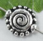 wholesale 28/92Pcs Silver Plated Spacer Beads 11x4mm (Lead-Free)