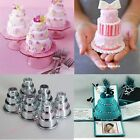 3 Sizes Mini 3-Tier Wedding Cake Tins Pudding Pan Baking Muffin Bakeware Moulds