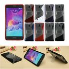 S Line Wave PC+TPU Silicone Slim Back Case Cover Stand for Samsung Galaxy Note 4