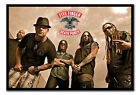 Five Finger Death Punch Framed Cork Pin Memo Notice Board With Pins