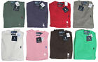 RL Polo Ralph Lauren Mens Pony Logo V Neck Pima Cotton Solid Slim Fit Sweater