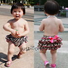 Super Cute for Baby Girls Toddlers Ruffle Panties Bloomers Nappy Cover Pantskirt