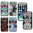"For Apple iPhone 6 Plus 5.5"" Dynamic Pattern Design Hybrid Snap On Cover Case"