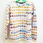 New Women/men Pullovers Emoji Emotion print 3d cute Sweatshirts Hoodies top v2