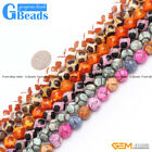 "Round Faceted Agate Loose Beads 15"" 12 colors 10mm for Jewelry Crafts Making"
