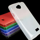 For LG Optimus F60 Tribute LS660 Transpyre Ultra Thin Slim TPU Skin Matte Case