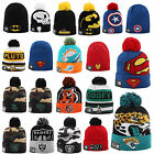 NEW ERA CAP BEANIE MÜTZE NFL ON FIELD MARVEL DISNEY BATMAN SUPERMAN MICKEY UVM