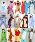 New Hot Kigurumi Pajamas Anime Cosplay Costume Unisex Adult Onepiece Dress S-XL