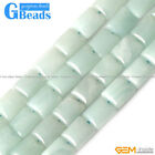 "Rectangle Natural Amazonite Gemstone Loose Beads Strands 15"" for Jewelry Making"