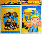 6 x Bob the Builder or 8 x My First JCB Party Loot Gift Bags - Free UK Postage