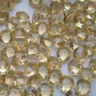 CHAMPAGNE WEDDING TABLE CONFETTI DIAMONDS SCATTER CRYSTALS DECORATIONS - 10MM