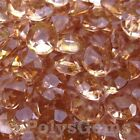 COPPER WEDDING TABLE CONFETTI DIAMONDS SCATTER CRYSTALS DECORATIONS - 10MM