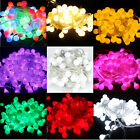 Multi-color 10m 100 Matte Balls LED Light String Strip For Wedding Xmas Party NW