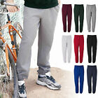 Super Sweats Cotton/Poly Elastic Bottom Mens Sweatpants With POCKETS S-2XL 3XL