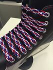 ICE SKATING ICE HOCKEY BOOT LACES ACCESSORIES NEW 7 BRIGHT COLOURS 250cm LONG