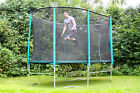10ft x 15ft or 8ft x 14ft Skyhigh Oval Trampoline and Safety Enclosure Package
