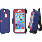 OtterBox Defender Series Original Case for iPhone 5 & 5S & Holster/Kickstand