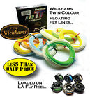 HALF PRICE - TWIN FLY LINES &/or LOADED FLY REEL OPTIONS  (RRP OVER £59..!!)