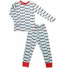 BNWT Boys Girls Maxomorra Christmas Rudolph Pyjamas NEW Blue Pajamas Reindeer