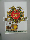 Miller Americas Quality Beer Liquor Store Advertising Sign - Paper