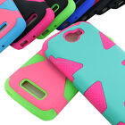 For Alcatel One Touch Fierce 2 7040T Dynamic Tuff Impact Hybrid Hard Case Cover